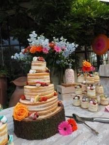 Naked weddingcake Taartje door Kaatje