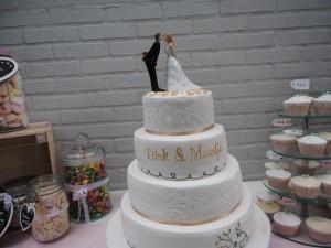 Bruidstaart Taartje door Kaatje