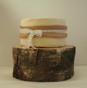 Bruidstaart-naked cakeTaartje door Kaatje