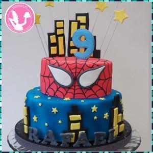 spiderman-taart