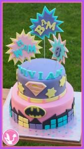 Supergirl-taart