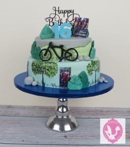 wielren-taart