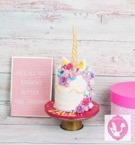unicorn-taart
